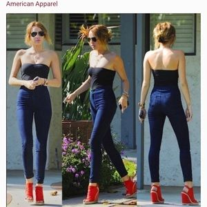 American Apparel | High Waisted Skinny Easy Jean